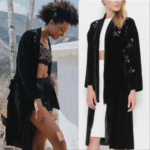 Jackets & Blazers - Black Velvet Jacket